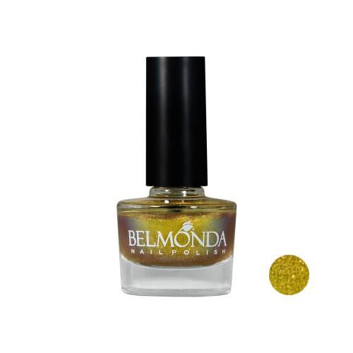 لاک ناخن ایلوژن Belmonda مدل Gold