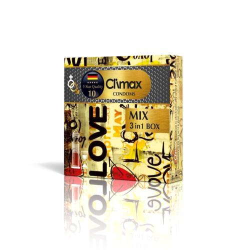 کاندوم 3 عددی CLIMAX مدل Mix