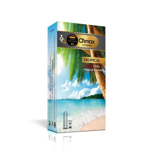 کاندوم 12 عددی CLIMAX مدل Tropical