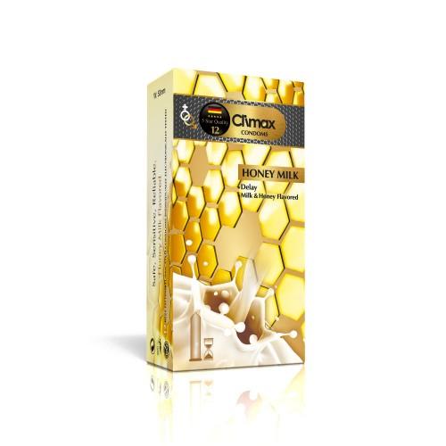 کاندوم 12 عددی CLIMAX مدل Honey Milk