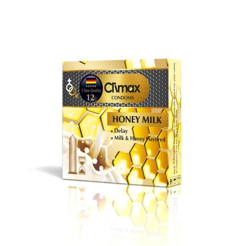 کاندوم 3 عددی CLIMAX مدل Honey Milk