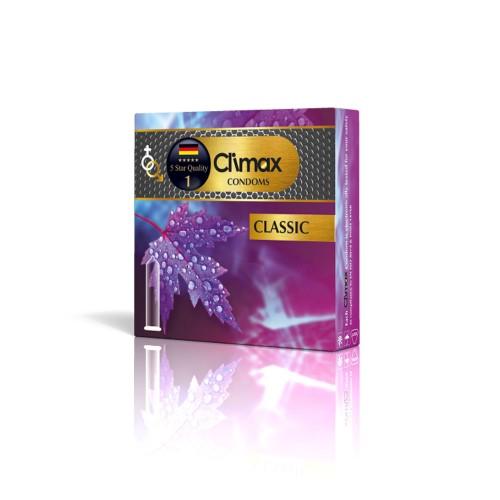 کاندوم 3 عددی CLIMAX مدل Classic