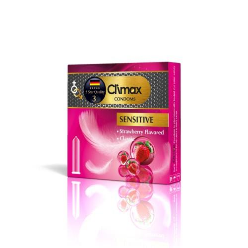 کاندوم 3 عددی CLIMAX مدل Sensitive