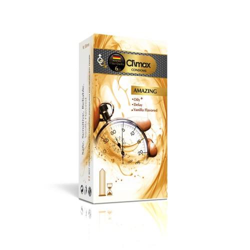 کاندوم 12 عددی CLIMAX مدل Amazing