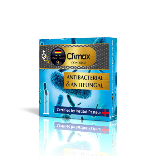 کاندوم 3 عددی CLIMAX مدل Anti-Bacterial