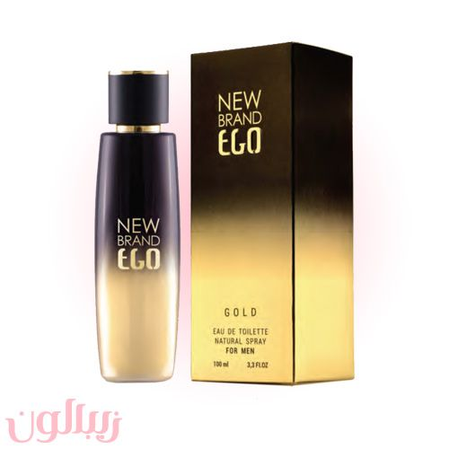 ادکلن مردانه 100 میل New Brand مدل EGO GOLD