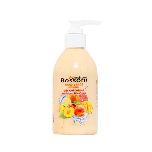 کرم مغذی 250 میل BOSSOM حاوی میوههای زرد
