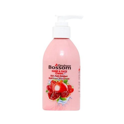 کرم مغذی 250 میل BOSSOM حاوی میوههای قرمز