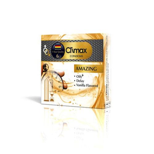 کاندوم 3 عددی CLIMAX مدل Amazing