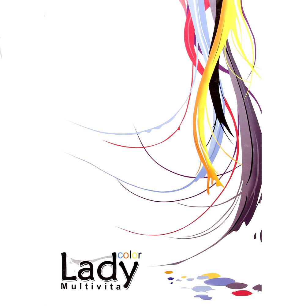 آلبوم رنگ مو (کاتالوگ رنگ مو Lady)