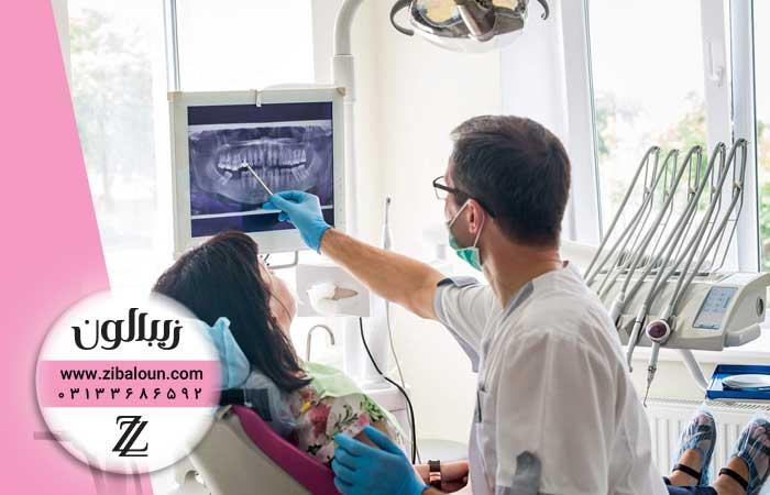 درمان پوسیدگی بین دو دندان