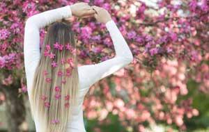 درمان ریزش مو با طب سنتی