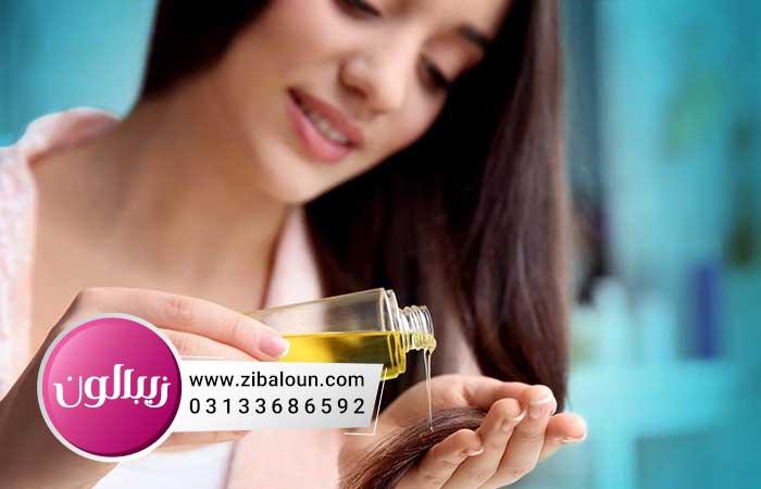 درمان خانگی ریزش مو با روغن زیتون