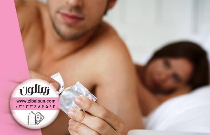 استفاده از کاندوم خاردار مردانه