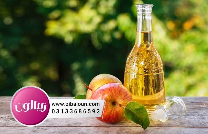درمان شوره سر با سرکه سیب