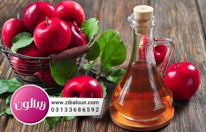 درمان شوره سر چرب با سرکه سیب