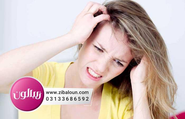 درمان شوره سر چرب با سرکه سفید