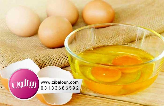 درمان خانگی چروک دور چشم با سفیده تخم مرغ
