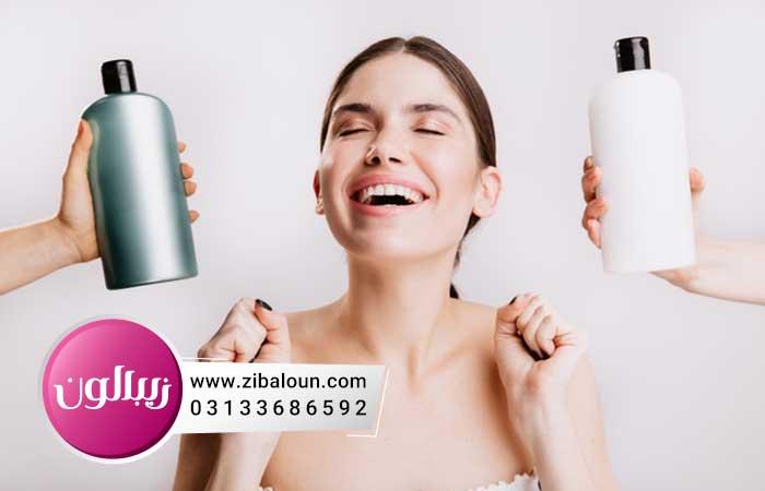 انواع شامپو مناسب برای ریزش مو
