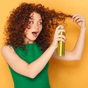 اسپری مو|بهترین انواع اسپری مو،حالت دهنده های منحصربه فرد !