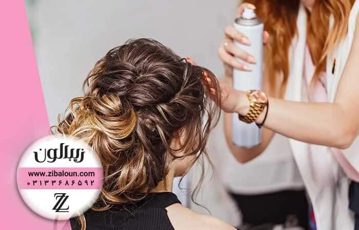 انواع اسپری مو زیبالون